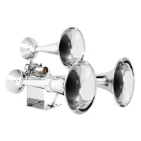 Heavy Duty Mega-Size Train Horn with Deluxe Sound by Grand General