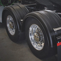 Minimizer 2220 Series Truck Black Poly Super Single Fenders