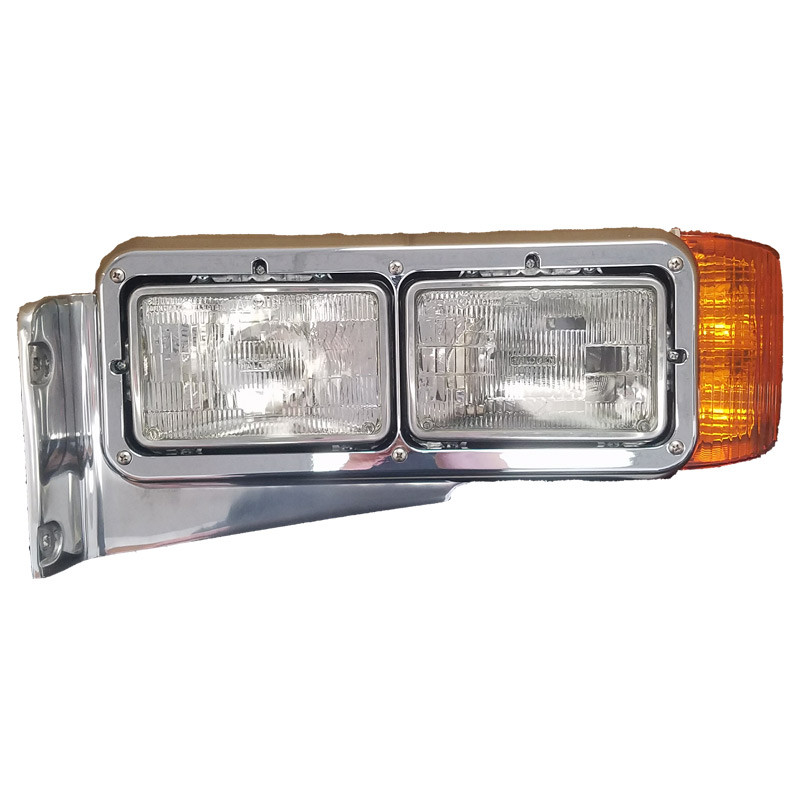 Headlights Assembly Shop: Peterbilt 379 Headlight Assembly 16-07572L-P 16-07572R-P