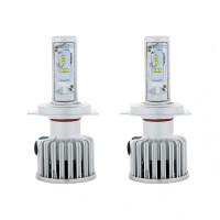 High Power H4 LED Bulb with Fan