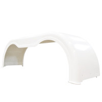 Fiberglass Full Tandem Fender Set White