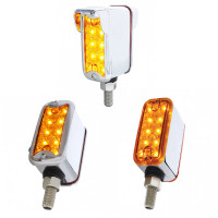 Dual Function Double Face Reflector Light Straight Mount Amber Lens Option