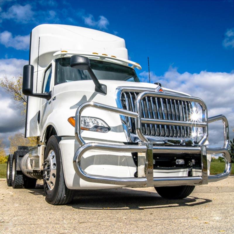 International Prostar & LT Herd Grill Guard 300 Series - On Truck
