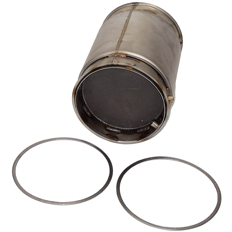 Diesel Particulate Filter For Cummins ISL 8.9 Engine 2871463NX Angle View