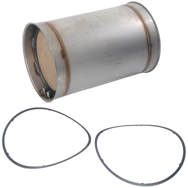 Diesel Particulate Filter For Caterpillar C13 & C15 Engines Side