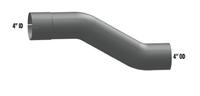 "International 4"" Aluminized Exhaust Pipe"