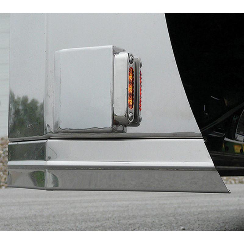 Universal Side Signal Wedge Bracket With LEDs