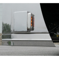 Universal Side Signal Wedge Bracket With LEDs
