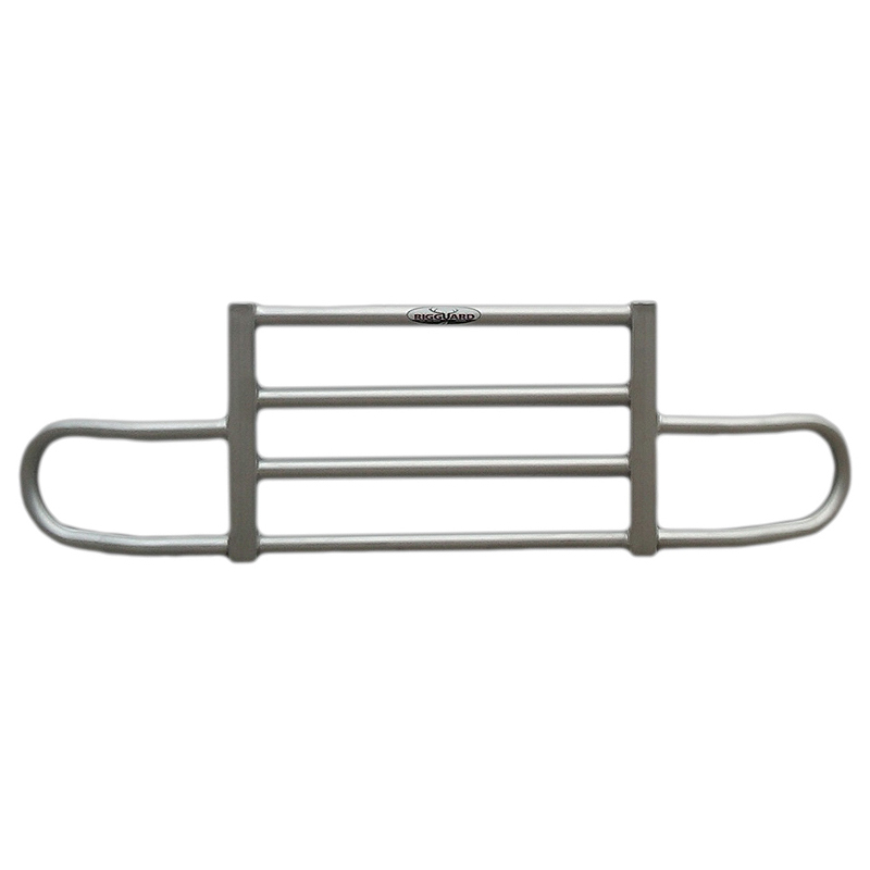 Freightliner Century 2x4 Bar Rig Guard Bumper Grill Guard - Brushed Finish