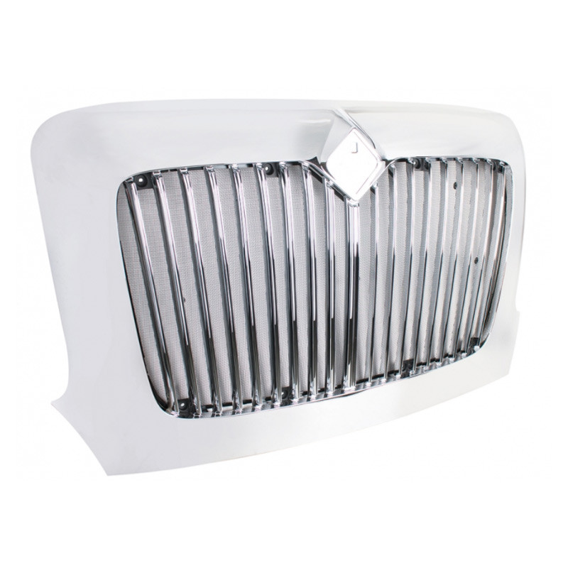 International Transtar Chrome Grille With Bug Screen 3556409C95