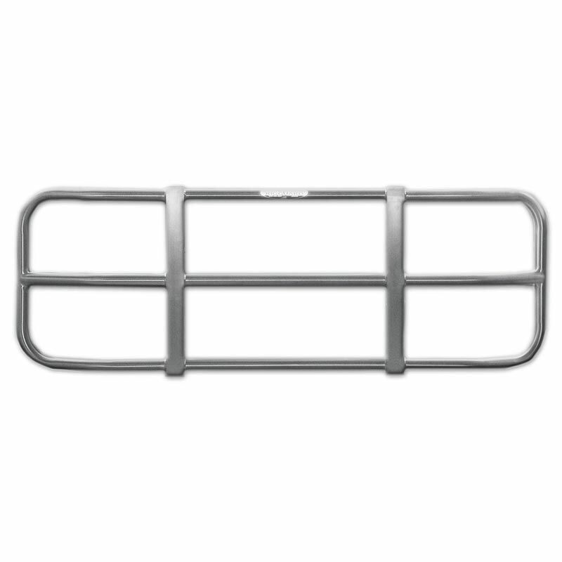 Freightliner Century 3 Bar Rig Guard Bumper Grill Guard - Brushed Finish