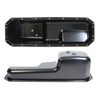 Heavy Duty Engine Oil Pan Top & Side View