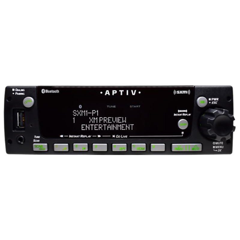 Delphi Heavy Duty SiriusXM AM/FM/MP3/WB/CD/USB And Bluetooth Radio - Default