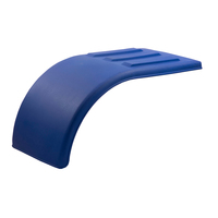 Poly Half Tandem Fenders Blue