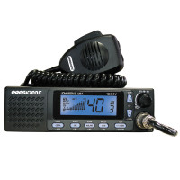 Johnson II 40 Channel President CB Radio Blue Display