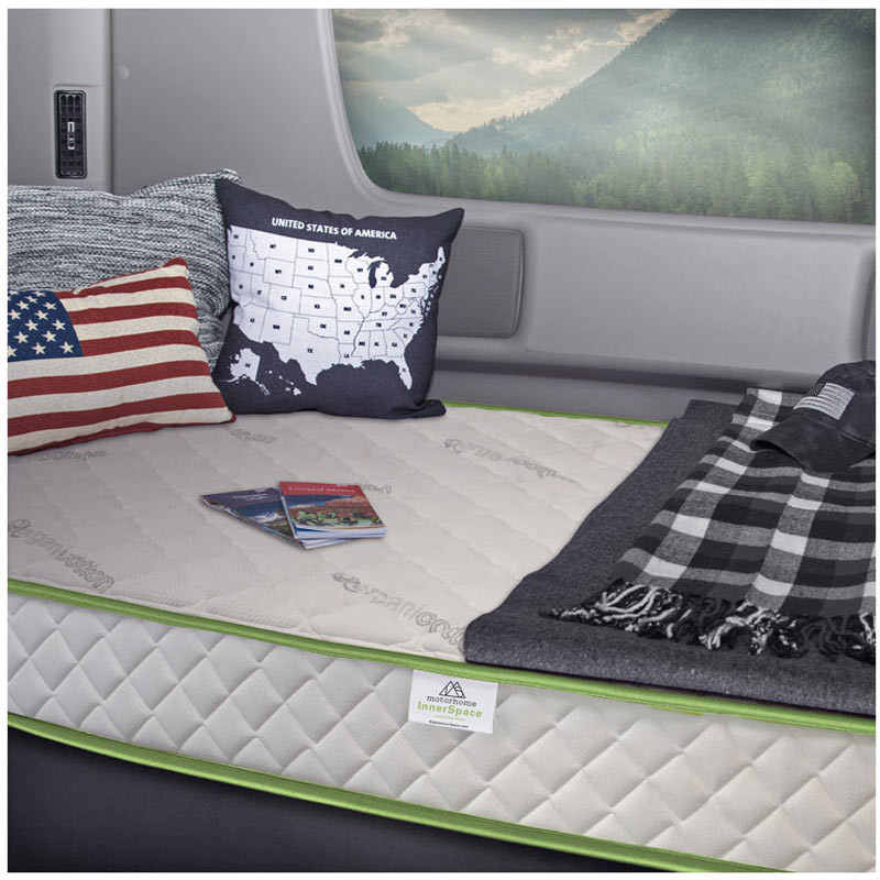 "Truck Deluxe Series 8"" Memory Foam Mattress"
