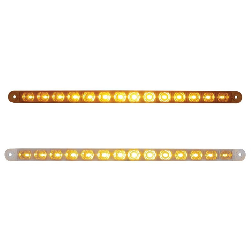 "14 LED 12"" Light Bar Replacement For Headlight Bezel"