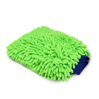 Renegade Green Microfiber Wash Mitt
