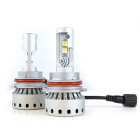 9007 Premium LED Headlight Bulbs- Full View