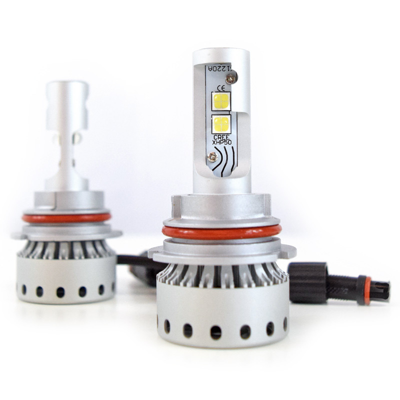 9004 Premium LED Headlight Bulbs- Full View