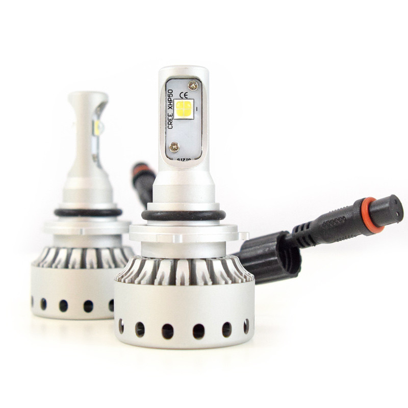 9006 Premium LED Headlight Bulbs- Full View