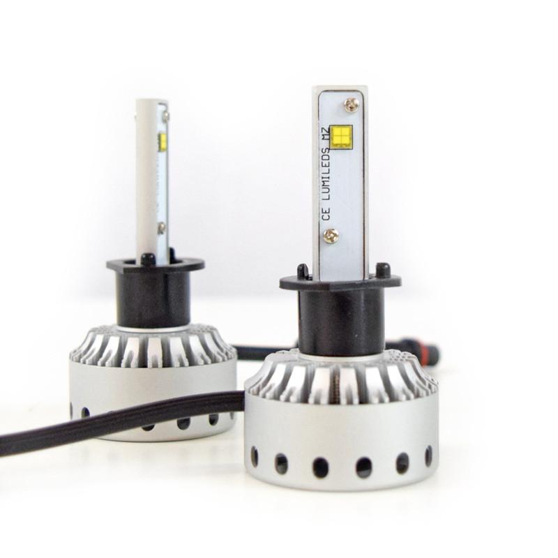H1 Premium LED Headlight Bulbs- Full View