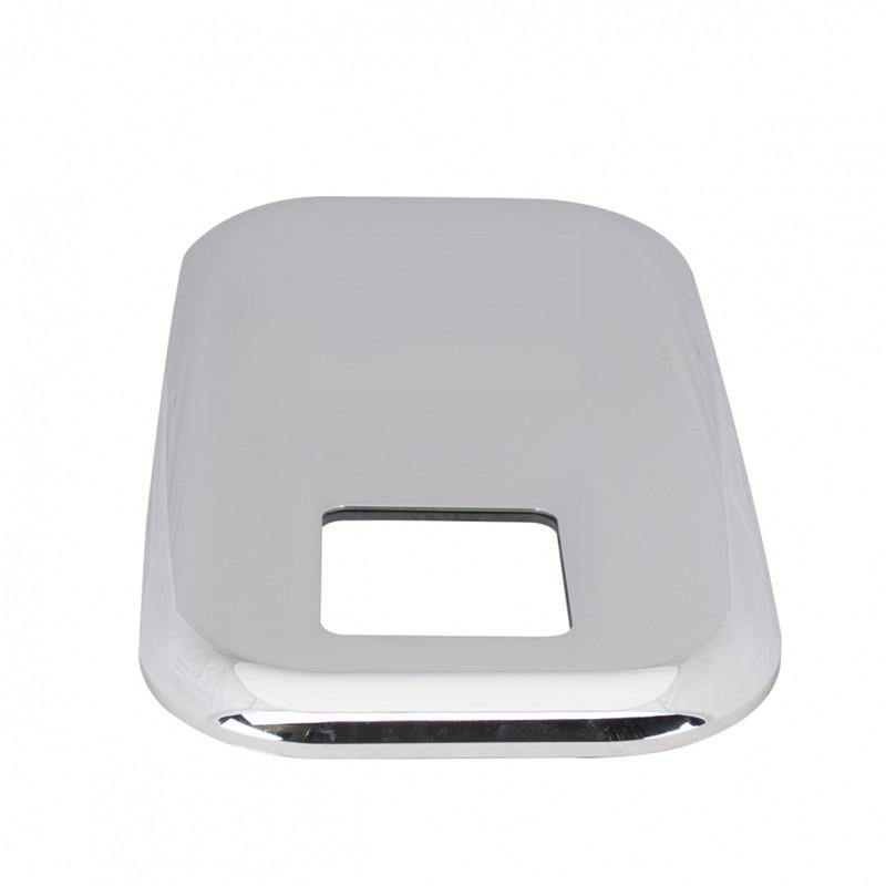 Chrome Shift Plate Angled