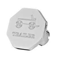 Engraved Wagon Logo Tractor Trailer Air Brake Knob