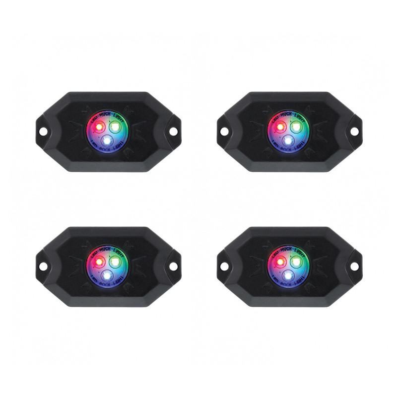 Multi Color Rock Light Kit