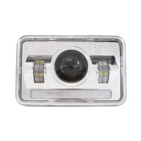 "6"" x 4"" LED Projector Headlight W/LED Running Light"