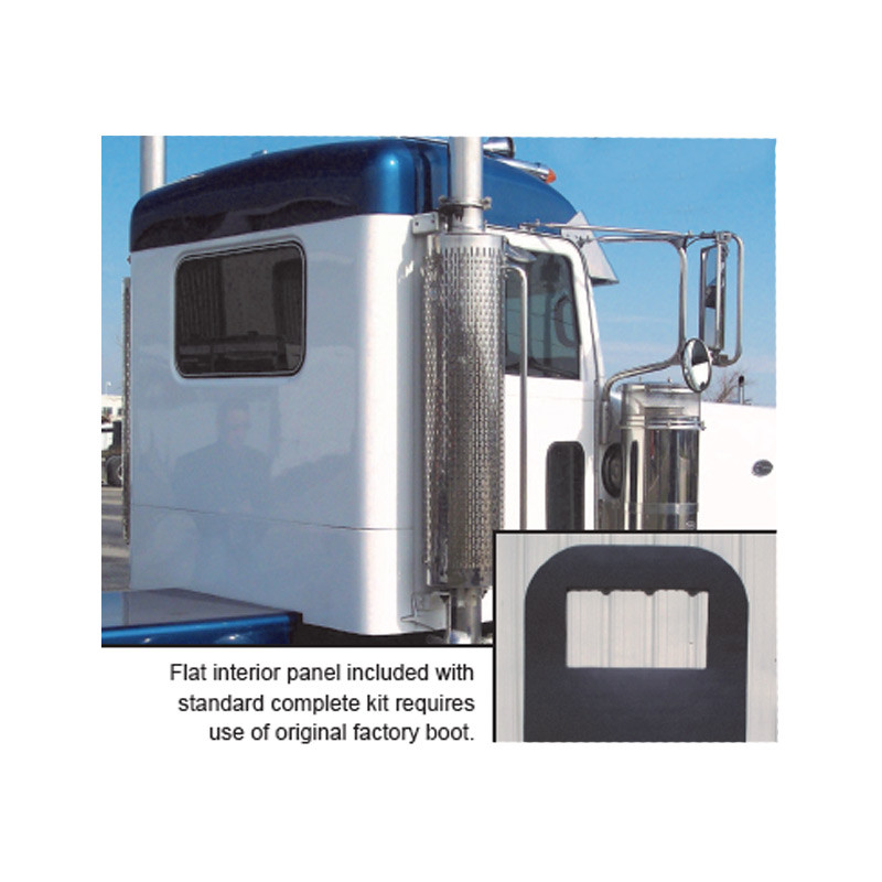 Fiberglass Peterbilt Ultra Cab Extended Day Cab Conversion Kit