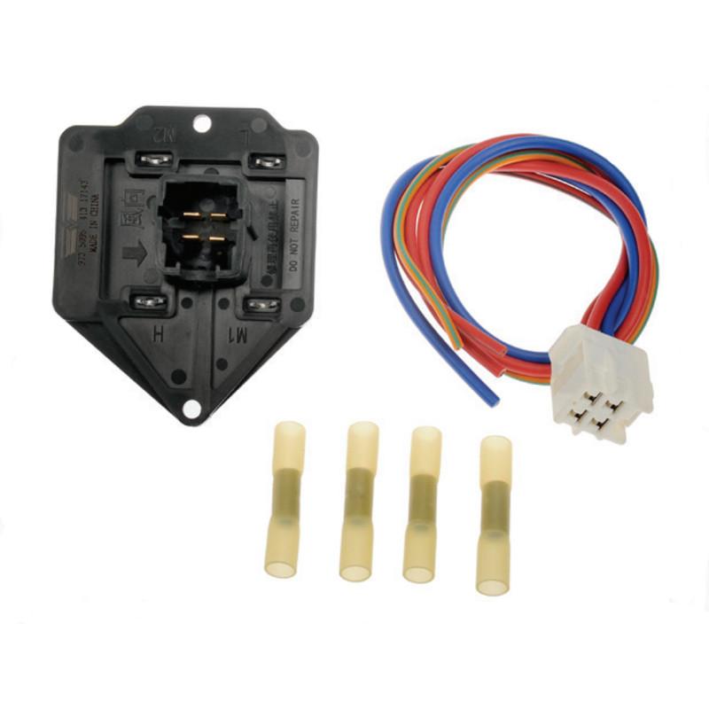 HVAC Blower Motor Resistor Kit Front