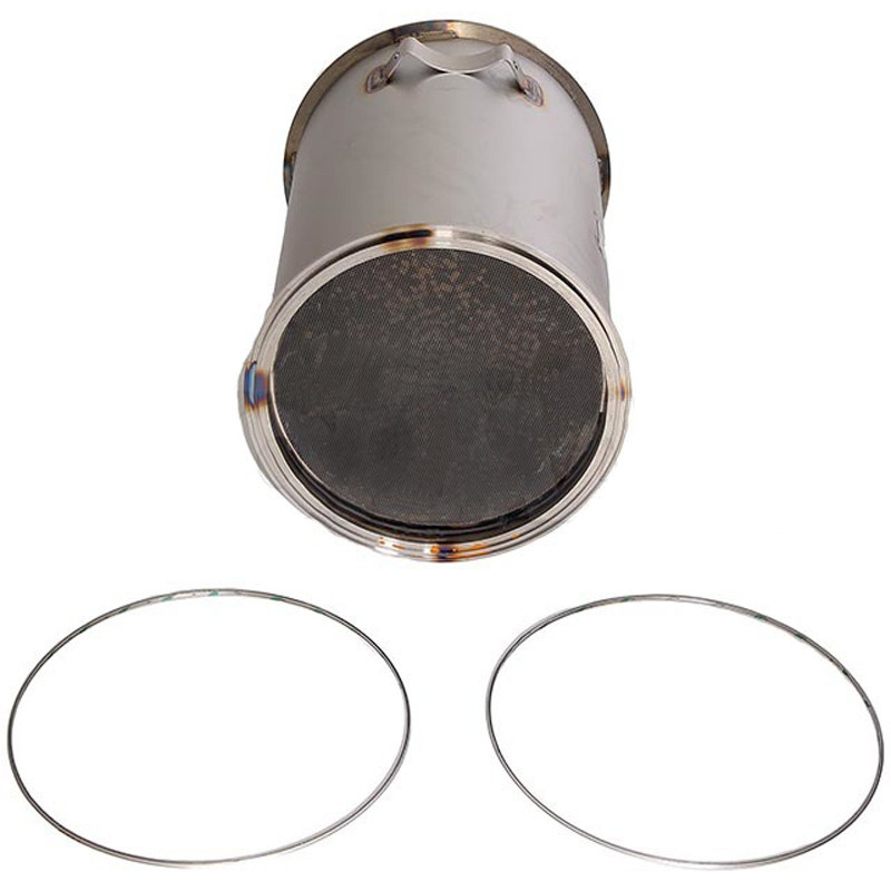 Diesel Particulate Filter Angled View