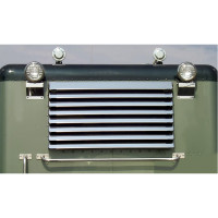 Peterbilt 389 Louver-Style Rear Window Shade 8 Louvers By Roadworks