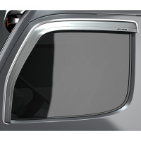 International LT Chrome Belmor Ventvisor Rain Guard