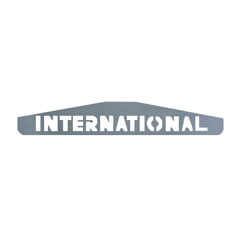 International Chrome Bottom Mud Flap Weight