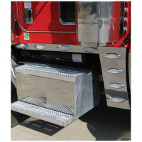 Peterbilt 388 Cowl Panel With Smoke LED Lights