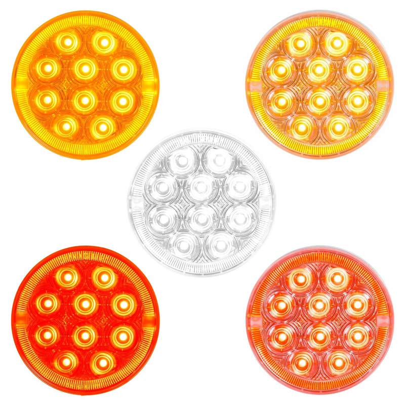 "4"" Round LED Prime Plus Series Sealed Lights"