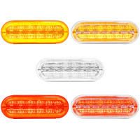 "6 1/2"" Oval LED Prime Plus Series Sealed Lights"