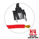 "5.75"" Premium Grade LED Projector Headlights H4 Connector"