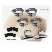 Straight Clamp Exhaust Hardware Kit