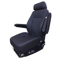 Extreme Low Rider Midback Black Truck Seat By Knoedler
