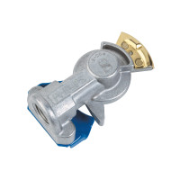 Straight Mount Gladhand - Blue/Service
