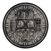 """W Speaker 5.75"""" Round LED Evolution Headlight Model 8631 Front"""