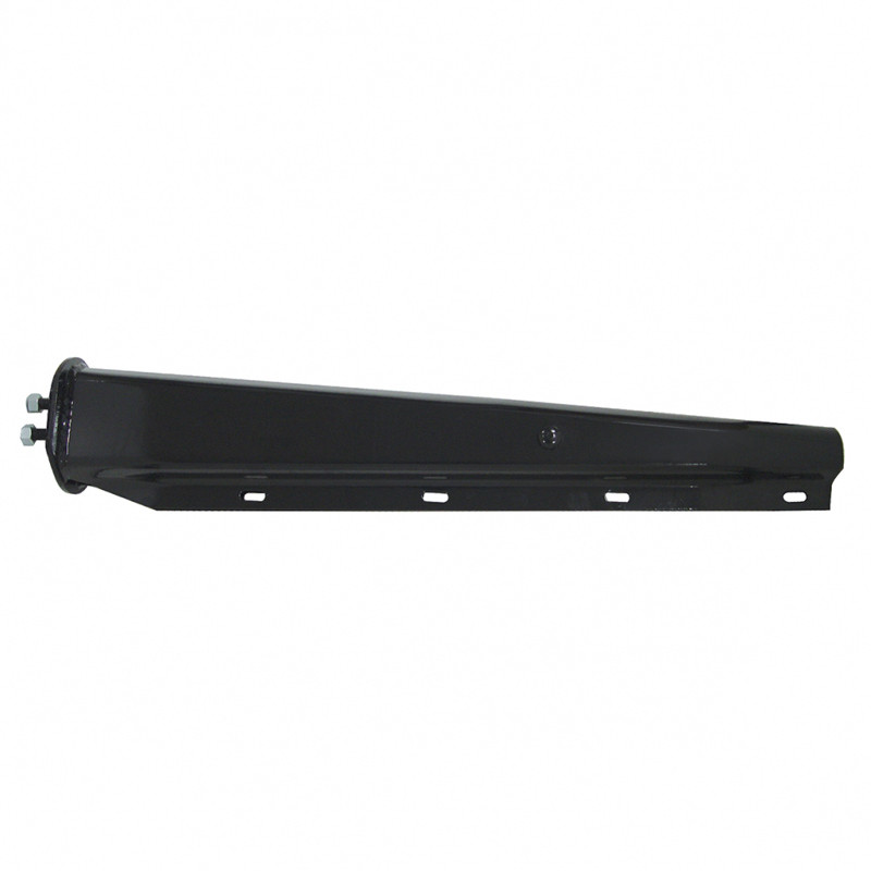"Black 30"" Spring Loaded Mud Flap Hanger 11/8"" Bolt Pattern"