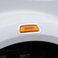 Peterbilt 567 SBA Side Signal Fender Light Trim By Roadworks