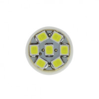 7 White LED 912, & 921 Socket Bulb