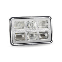 "4"" x 6"" LED Premium Grade Projector Headlight Front"