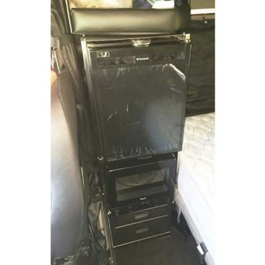 Peterbilt 379 389 Refrigerator And Microwave Storage Solution By Iowa