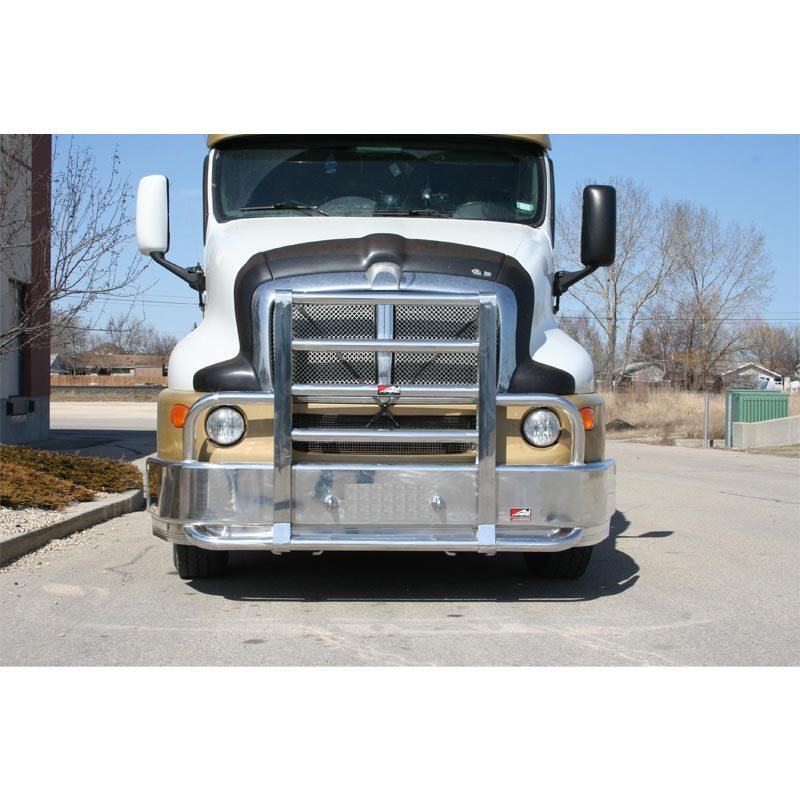 Kenworth T2000 Ali Arc Curved Front Bumper Grill Guard